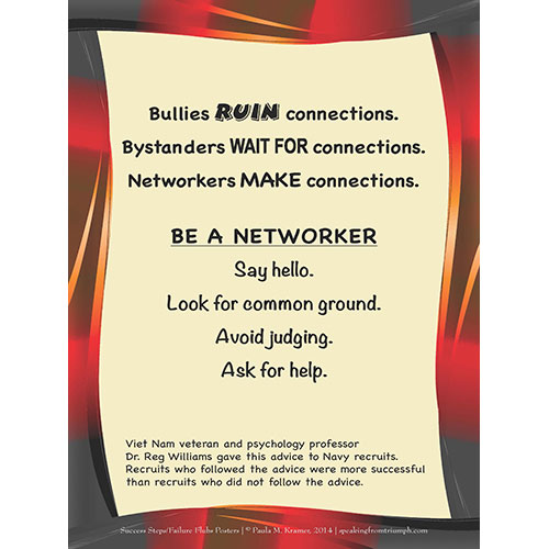 Be a Networker Poster