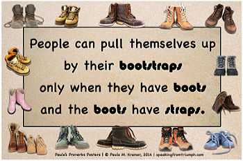 Bootstraps Poster