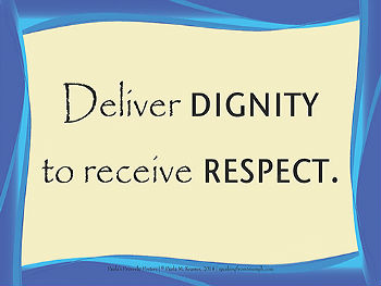 Deliver Dignity Poster